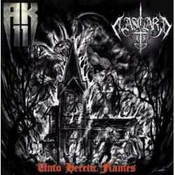 AK11 / Aasgard - Unto Heretic Flames