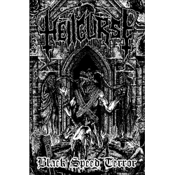 Hellcurse - Black Speed Terror DIE-HARD + metal pin